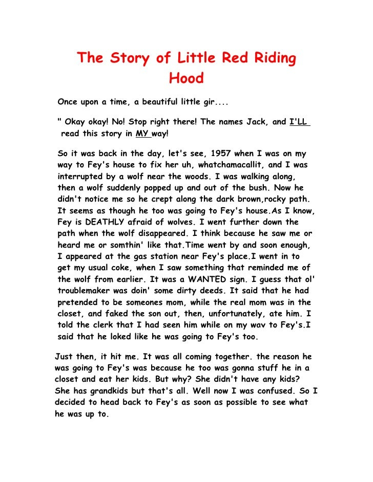 example of a full short story script