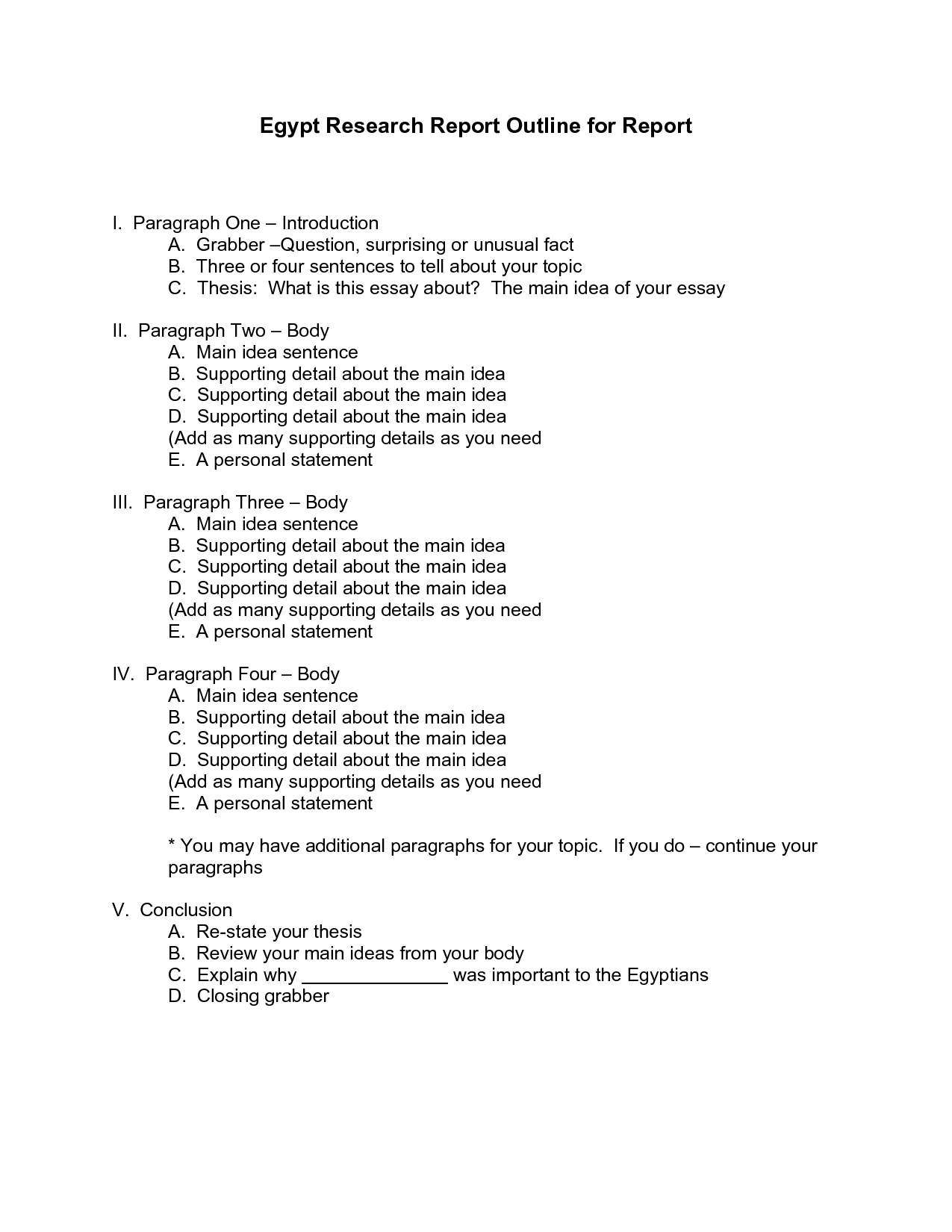 example of questionnaire in research paper