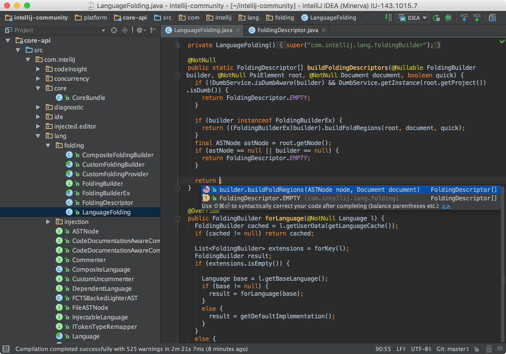 test driven development java example intellij