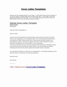beginning of a cover letter example