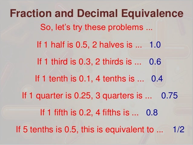 example of decimal to fraction