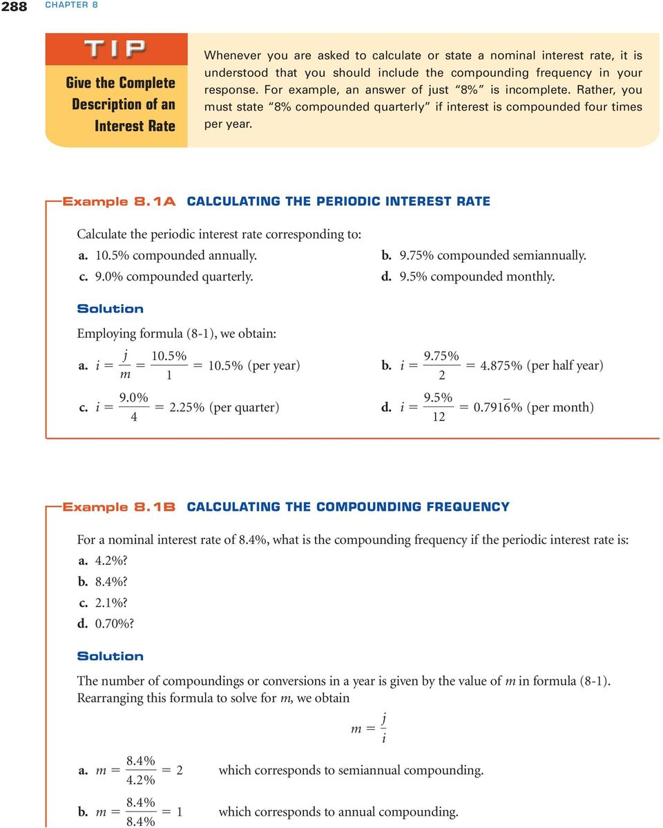 compound interest formula with example pdf