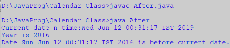 example of boolean statement in java